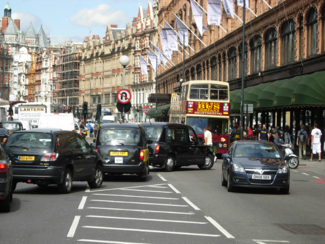 BROMPTON ROAD, KNIGHTSBRIDGE